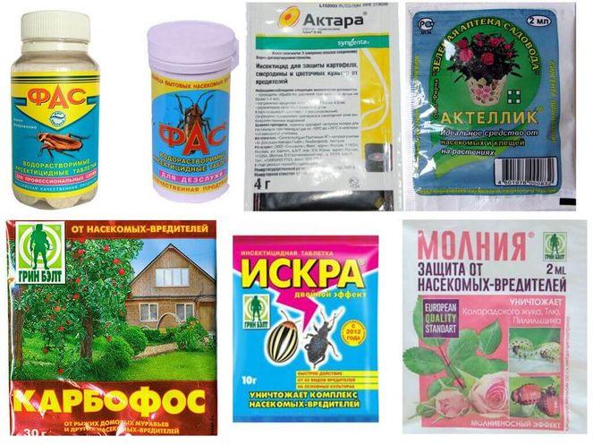 Химические средства против тли
